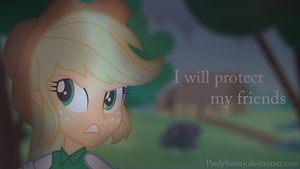 I Will Protect My Friends by PaulySentry