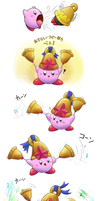 Bell Kirby by aquabluu