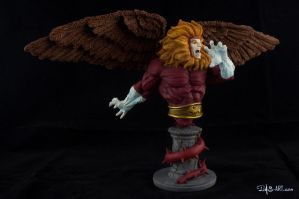 [Garage kit painting #09] Griffin bust - 008 by DasArt