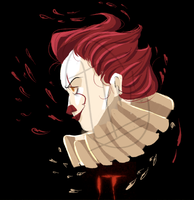 Pennywise by axolotlsketches