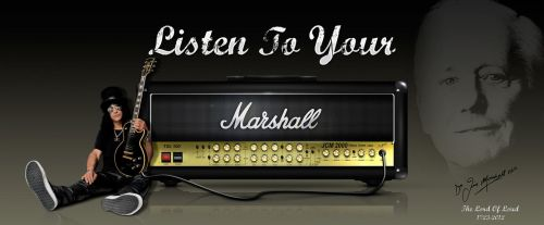 Listen To Your Marshall by graphomet