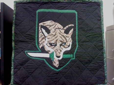 Foxhound Quilt by Bon-Fire5