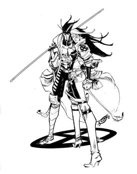 GAMBIT and ROGUE_SDCC by EricCanete