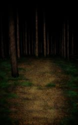 Woods Landscape Natural Background stock image by godisdrawing