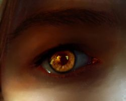 Another Vampire's eye by SaphiraNirnaeth
