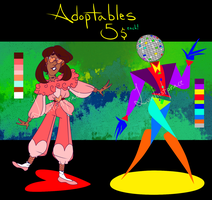 disco adoptables! (open) by Loveliestprince