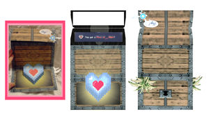 Zelda Oot Valentine template by EruwaedhielElleth