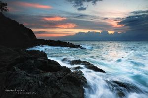 Tacking Point Cove by simonebyrne
