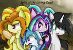 Spite of the Living Dead (comic) by xxSactaviaxx