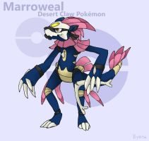 Fakemon Contest - Marroweal by byona