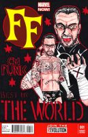 CM PUNK Sketch Cover by TheD-Wrek
