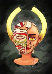The Mask by JatinAT
