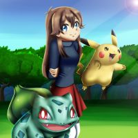 .: Pokemon Leaf Green :. by Sincity2100
