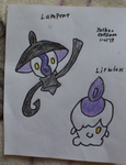 Litwick and Lampent by JoshuaCordova