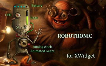 Robotronic for xwidget by Jimking