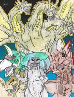 Lost Project: The Return of King Ghidorah by AVGK04