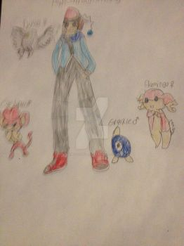 Marriland's Pokemon Black Wedlocke Fan Art by OmegaCrafter17