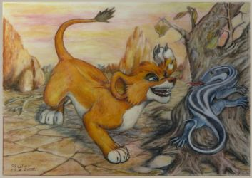 Mighty hunter Vitani 2008 by SSsilver-c