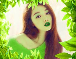 Lee Sung-hyung as Poison Ivy by MsLiang