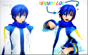 Oh Look, A New Kaito Model by ArisenStar