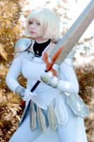 Clare cosplay (Claymore) by Shibitohime by frontsideair