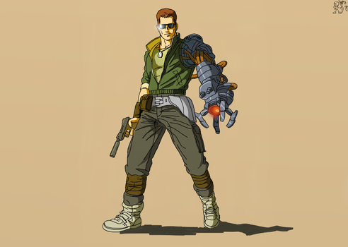 Bionic Commando by Palm89