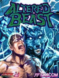 NES Altered Beast Cover by fonzi9864