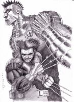Wolverine  Punk Colossus by YuriDevian