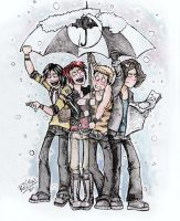 MCR's umbrella... by dragon-flies