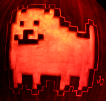 You Deployed The Dog - Annoying Dog Pumpkin by johwee