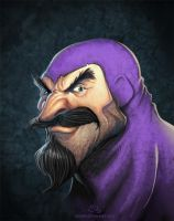 Disney Villains Lord Igzorn by NicChapuis