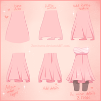 . Simple Ruffle Tutorial. by fawnbun
