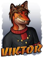 Viktor badge by archaemic