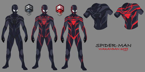 Spider-man CONCEPT Design 03 by DuckLordEthan