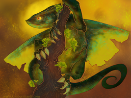 Ginkgo Dragon by phantos