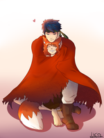 cape cuddles by LeahFoxDen