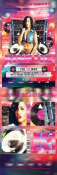 Kinetic Party Flyer Template by SensationPhotoworks