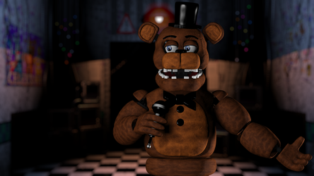 Un-Withered Freddy by Tommatso