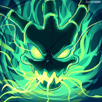Thresh   Icon commission by SouOrtiz