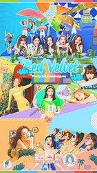 [SHARE PSD] Summer Magic #Power Up @Red Velvet by SuzyKimJaeXi