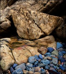 blue stones as rest by LordLJCornellPhotos