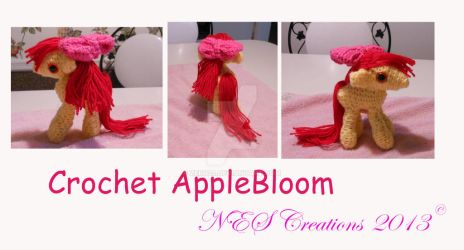 Crochet Applebloom by Zero23