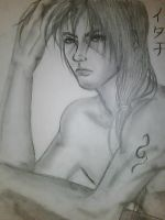 Itachi in sketches.. by chromic7sky