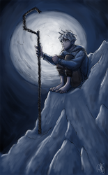 Rise Of The Guardians - Jack Frost and The Moon by Renny08