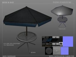 Dino D-Day: Patio Table by Daowg