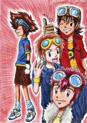 Digimon Leaders by Koza-Kun