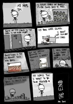 MY NAME TIM by suicidal-cow