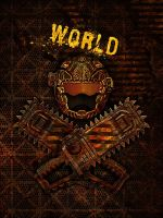 Hell Rangers World Book Cover by Red-Rogers