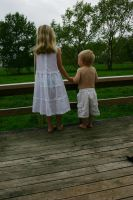 Girl and Boy 1 by Paigesmum-stock