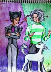 The Furious Dog and the Gentle Cat by ShinjitsuForever